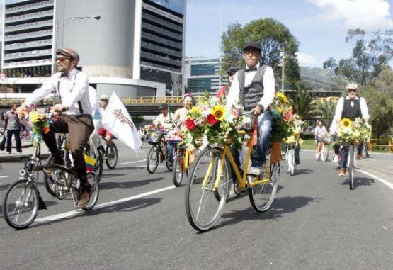 Feria a ritmo de bici