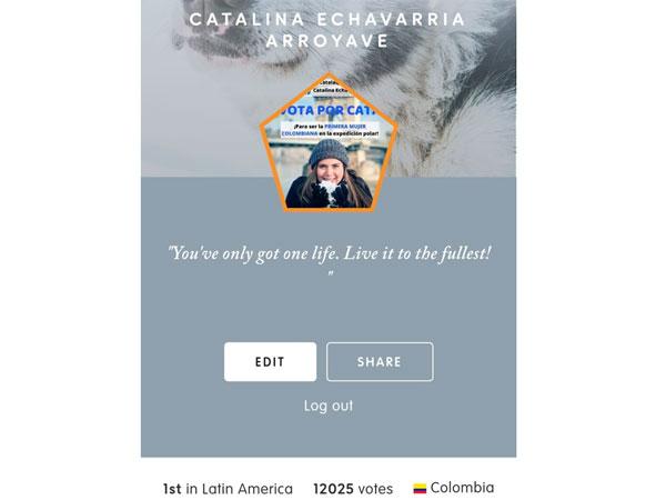 Votación CataLaQueViaja