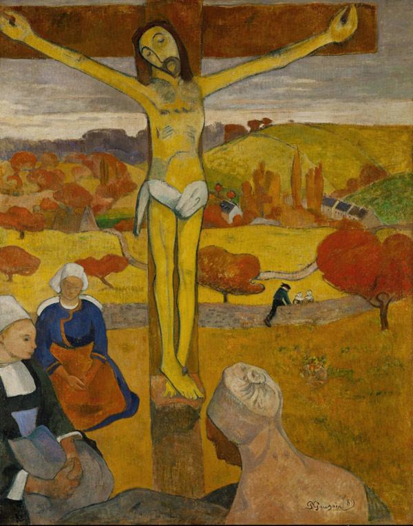 Cristo amarillo de Paul Gaugin