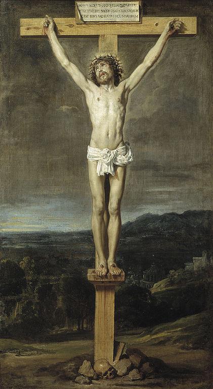 Cristo en la Cruz Velazquez 1631