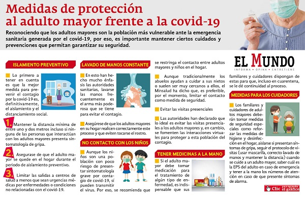 Cuidado Adulto Mayor Coronavirus