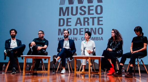 José Roca,Jaime Cerón,Emiliano Valdés,Carolina Chacón,Alejandra Sarria yMaría Isabel Rueda.