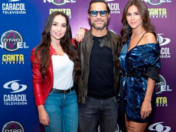 Paola Jara, Diego Torres y Greecy