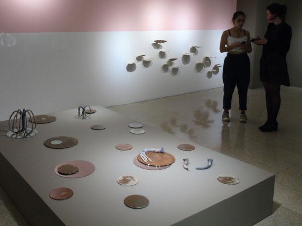 Visitantes exposición Émerger