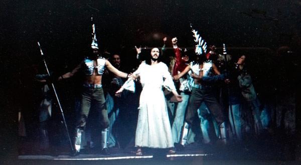 Escena del musical Jesucristo Superstar