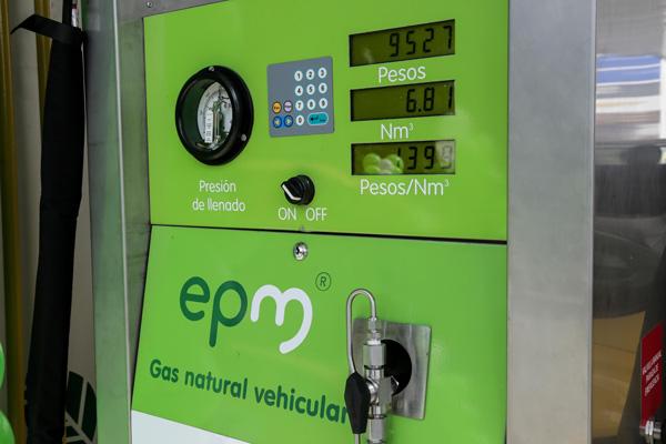 Estacion de gas natural vehicular EPM