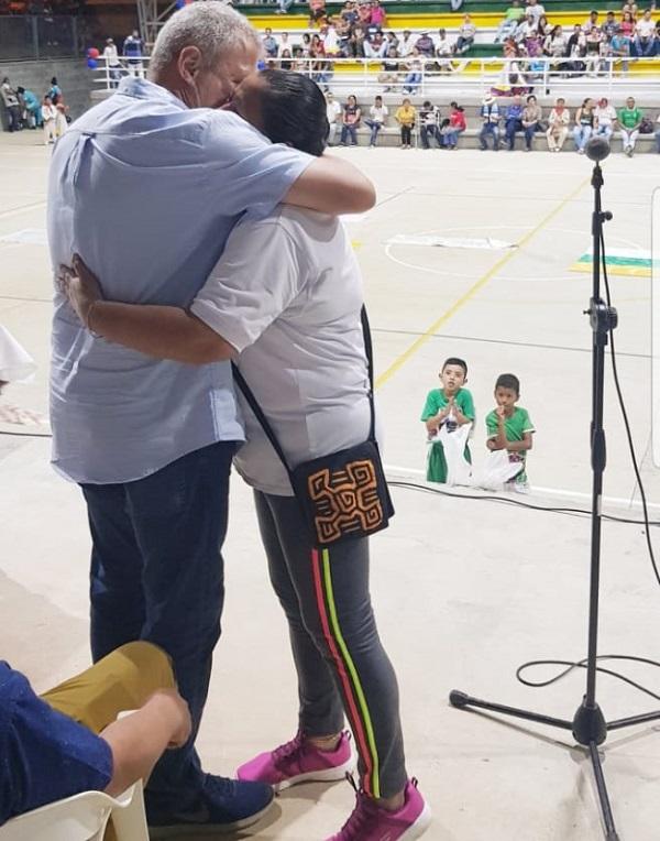 Otras de las pasiones de Germán  Blanco es la dirigencia deportiva.