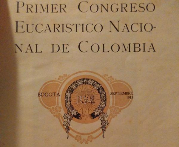 Primer Congreso Eucarístico Nacional de Colombia
