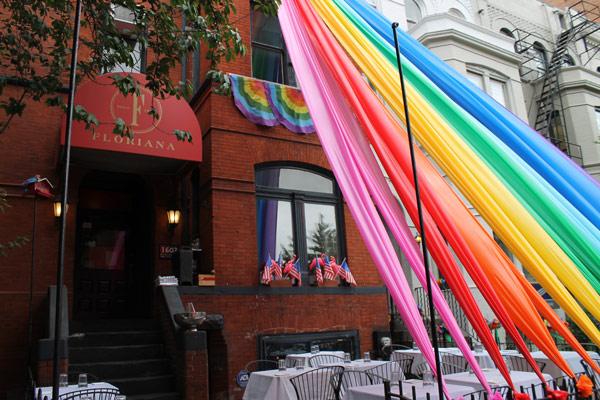 Restaurante Rioriana en Pride