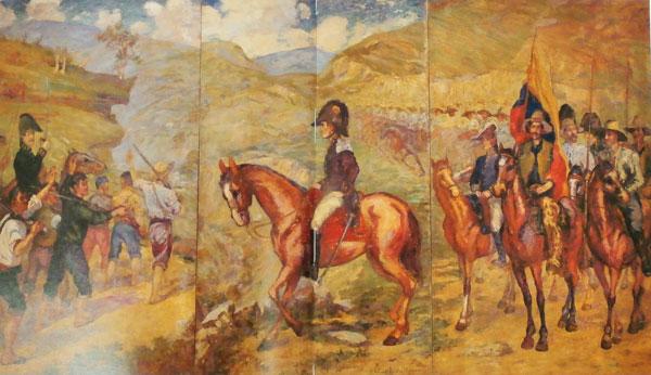 Cuadro dela Batalla de Boyacá