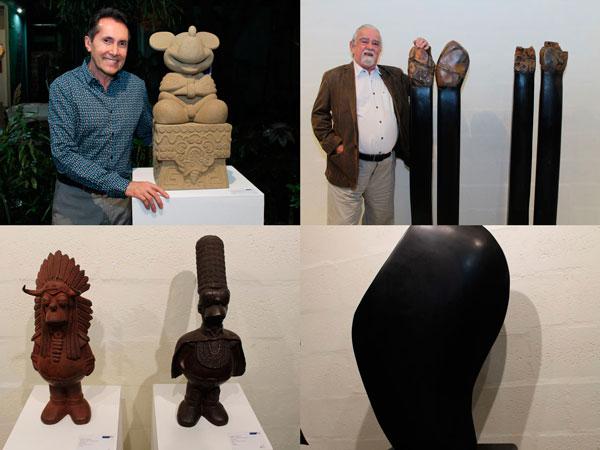 Nadín Ospina y Hugo Zapata