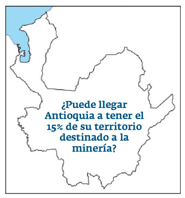 Mapa de la minería
