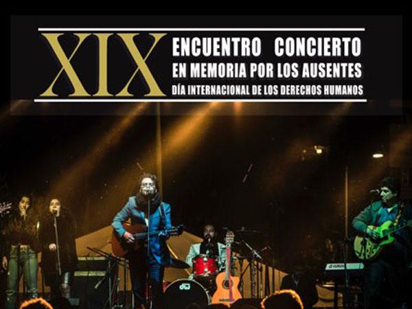 XIX Encuentro concierto en memoria por los ausentes