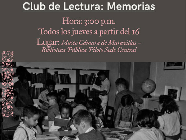 Club de lectura: Memorias