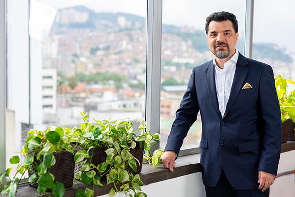 Oscar Pérez Agudelo, presidente del  Grupo Réditos