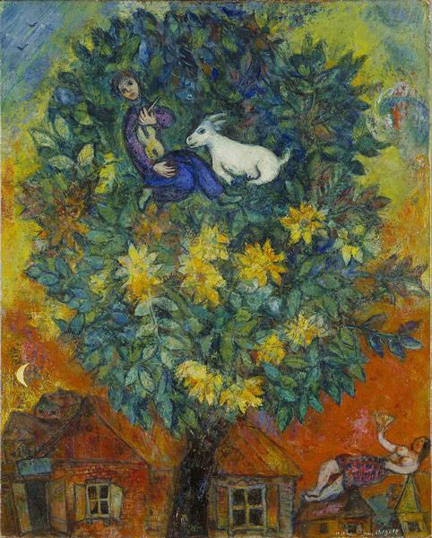 Marc Chagall Otoño en el pueblo
