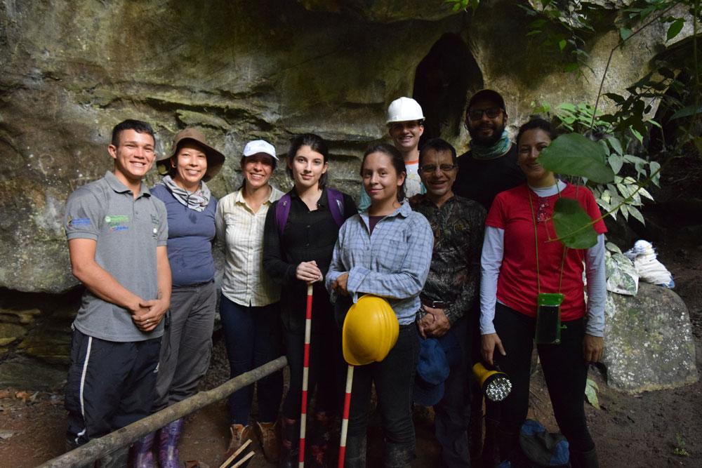 equipo de trabajo geoarqueología en San Luis
