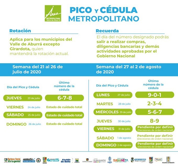 Pico Cedula Metropolitano 21Julio