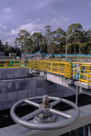 Planta de Tratamiento de Aguas Residuales El Retiro.