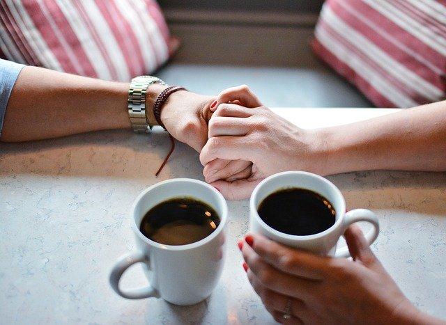 Compartir un buen cafè