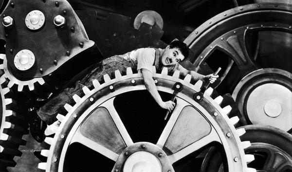 Tiempos Modernos, de Charles Chaplin