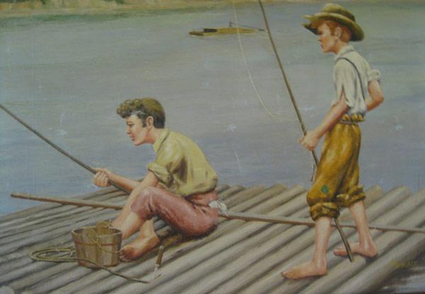 Tom Sawyer y Hucklberry Finn