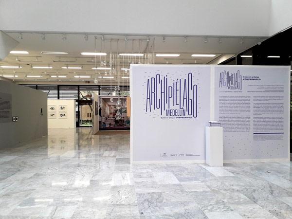 obras de Alejandro García, Claudia Velásquez, Ana Isabel Diez, y John Mari Ortiz