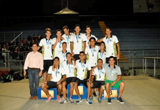 Antioquia ganó cuarto Interligas de Polo Acuático