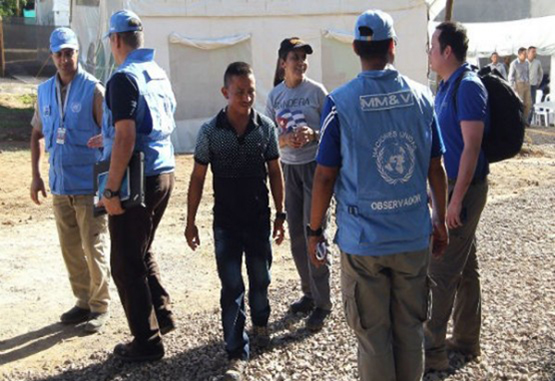 La ONU y las Farc tomaron medidas por baile en La Guajira