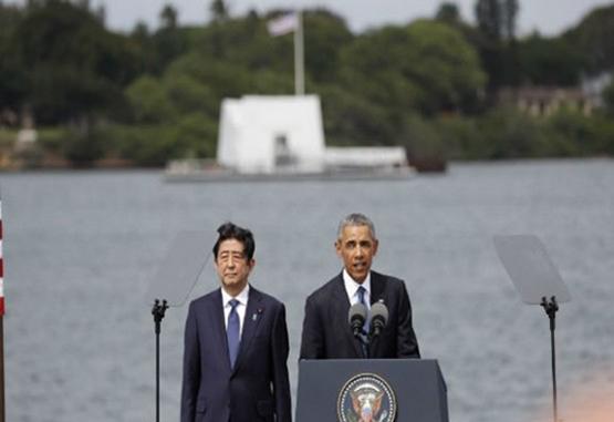 Obama afirmó desde Pearl Harbor que la unión con Japón nunca ha sido más fuerte