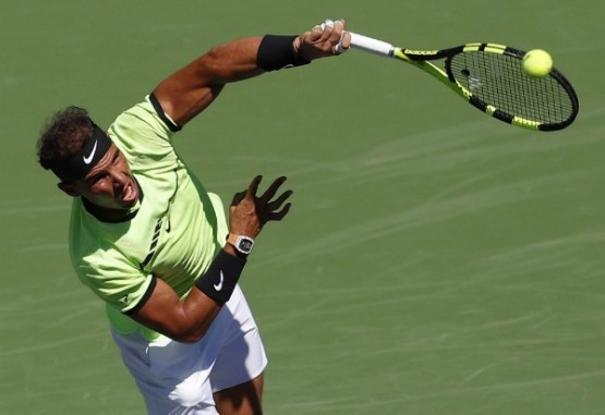 Nadal irrumpe firme en Indian Wells