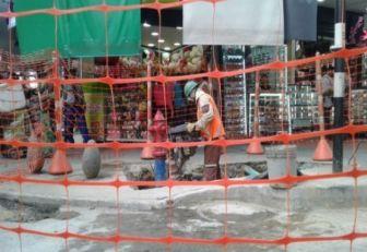Comerciantes se quejan de perjuicios por obras de Centro Parrilla