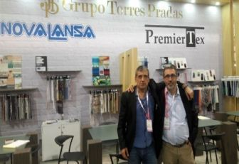 Josep Mimó, agente exportador de Novalansa y Francesc Buron, agente importador de Premier Tex.
