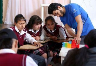 Niños de Antioquia aprenden otra forma de contar la matemática