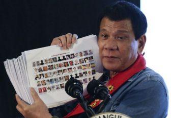Duterte sumó al Ejércitoa su guerra antidroga