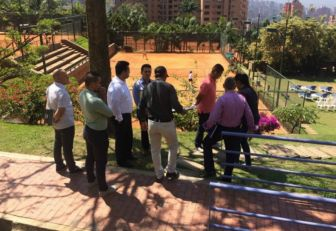 Medellín recibió inspección para Copa Davis