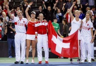 Bielorrusia, República Checa, Suiza y EE.UU. en semifinales de Fed Cup
