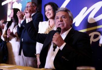 Moreno gana elecciones de Ecuador con 87,2 % de actas escrutadas