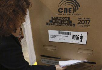 Elecciones en Ecuador, a segunda vuelta